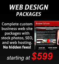 web design packages
